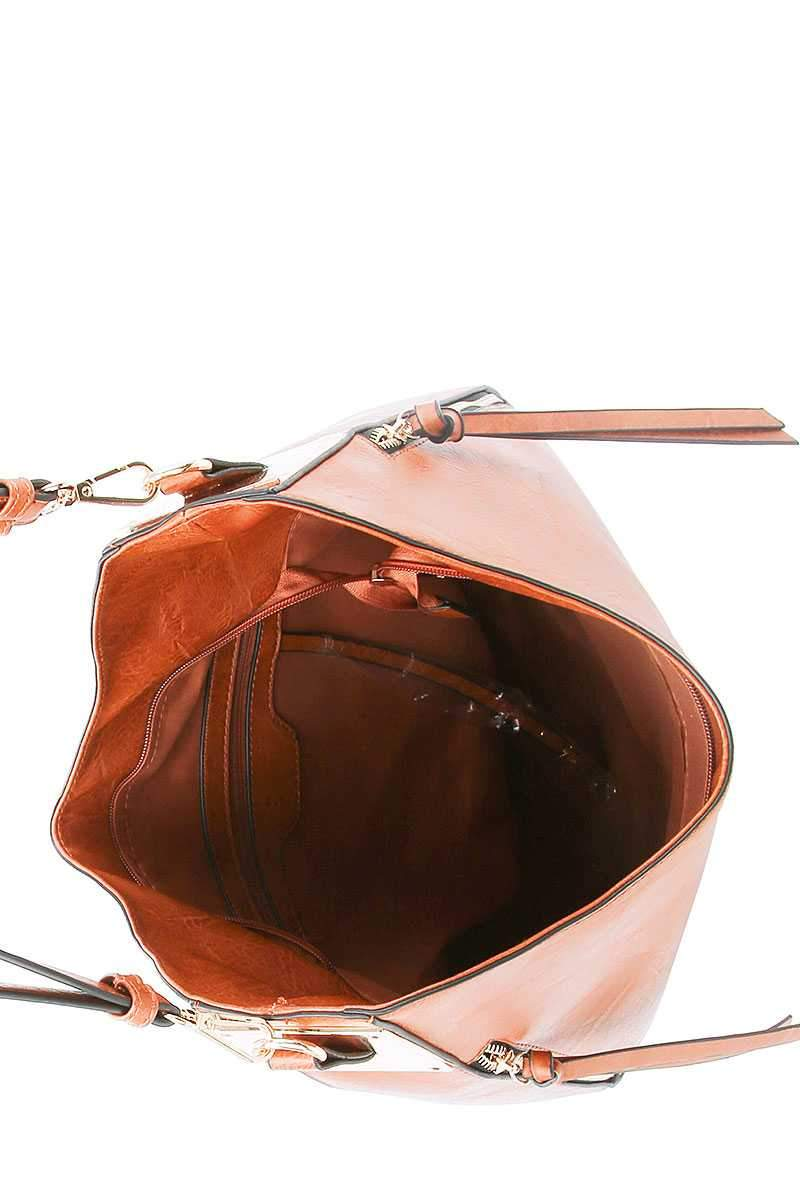 Fashion Chic Trendy Hobo Bag With Long Strap - FashionKila.com