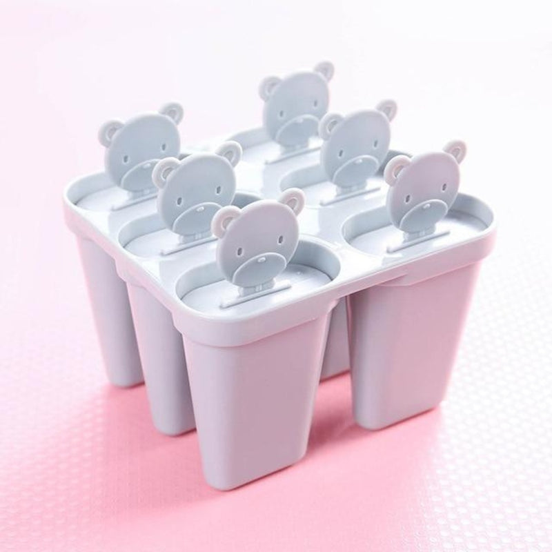Creative ice cream Mold ice tray Popsicle ice Box ice cream Popsicle Moulds Tray DIY Kitchen Accessories