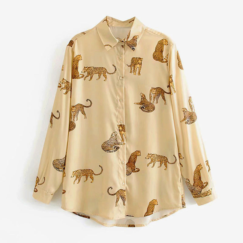 Leopard Stylish Shirt - FashionKila.com