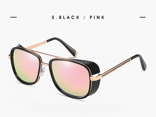 Square Sunglasses Steampunk - FashionKila.com