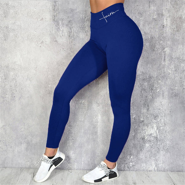 Black sport leggings - FashionKila.com