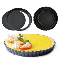 Removable Bottom Non-Stick Tart and Quiche - FashionKila.com