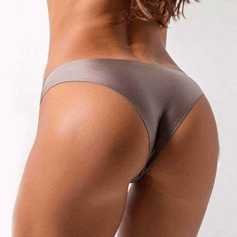 Seamless Panties Women Briefs Nylon Ultra-thin G-string - FashionKila.com