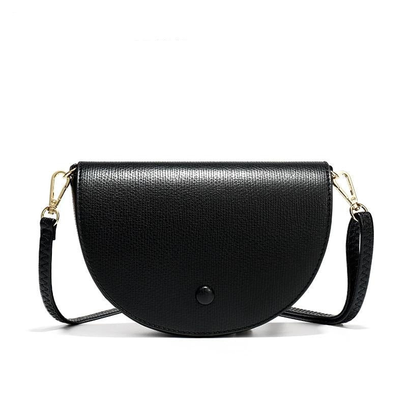 Leather saddle handbags - FashionKila.com