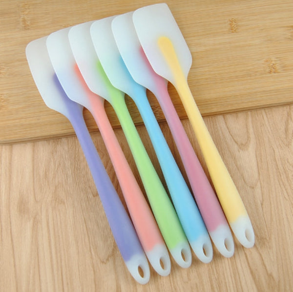 Baking tools spatula for cake silicone spatula baking pastry  kitchen spatula cream mixer Ice cream scoop Cream scraper - FashionKila.com