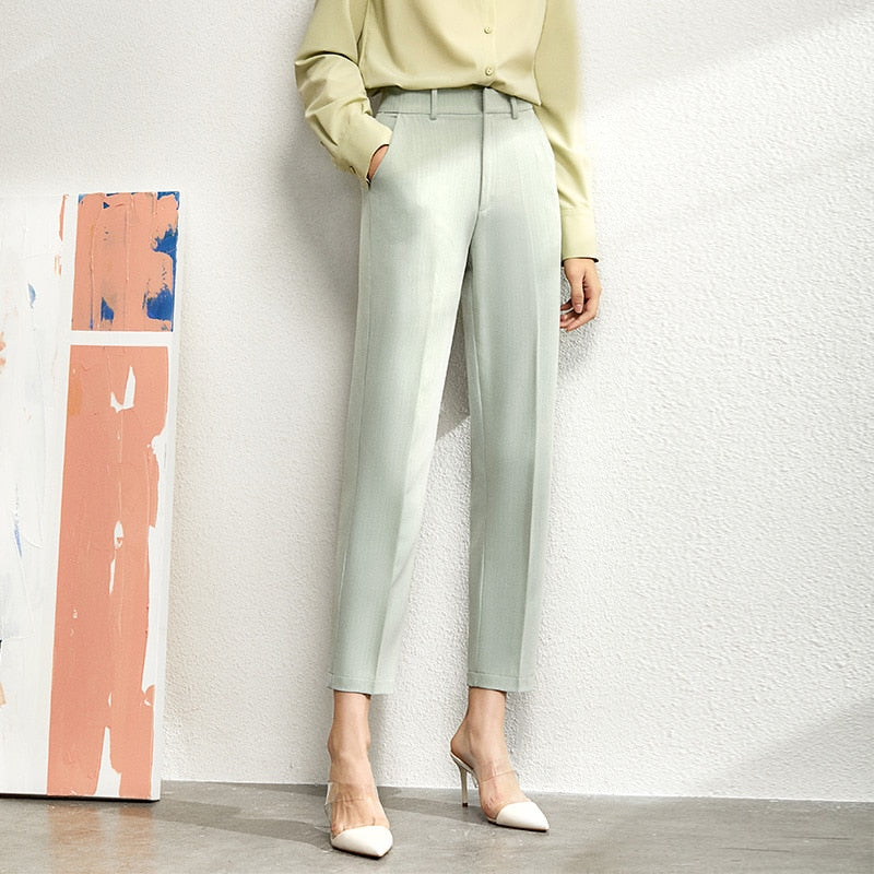 Minimalism high waist suit set - FashionKila.com