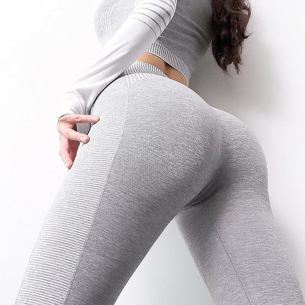 Seamless Yoga Set - FashionKila.com