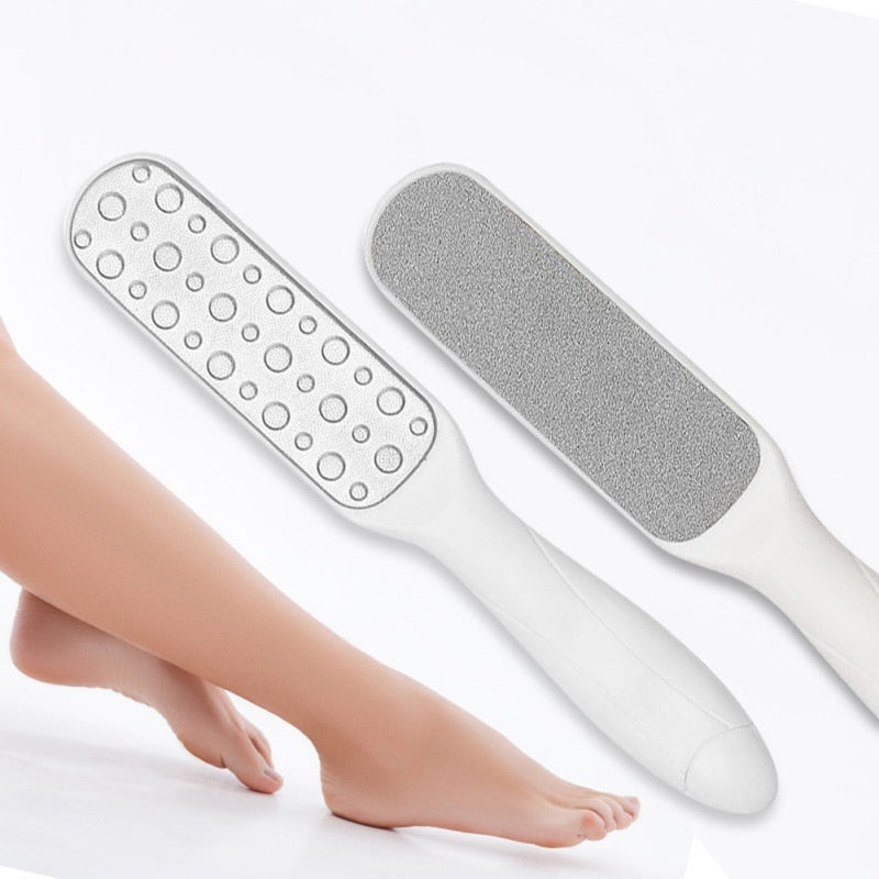 Foot Scraper Callus Remover, Double Sided Foot File, Surgical Grade Stainless Steel Foot Rasp for Feet Corn,Dead Skin and Cracked Heel