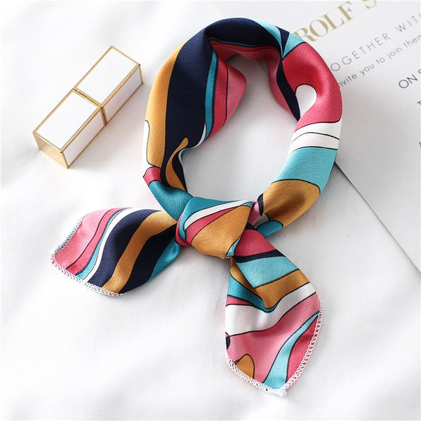 Women silk scarf - FashionKila.com