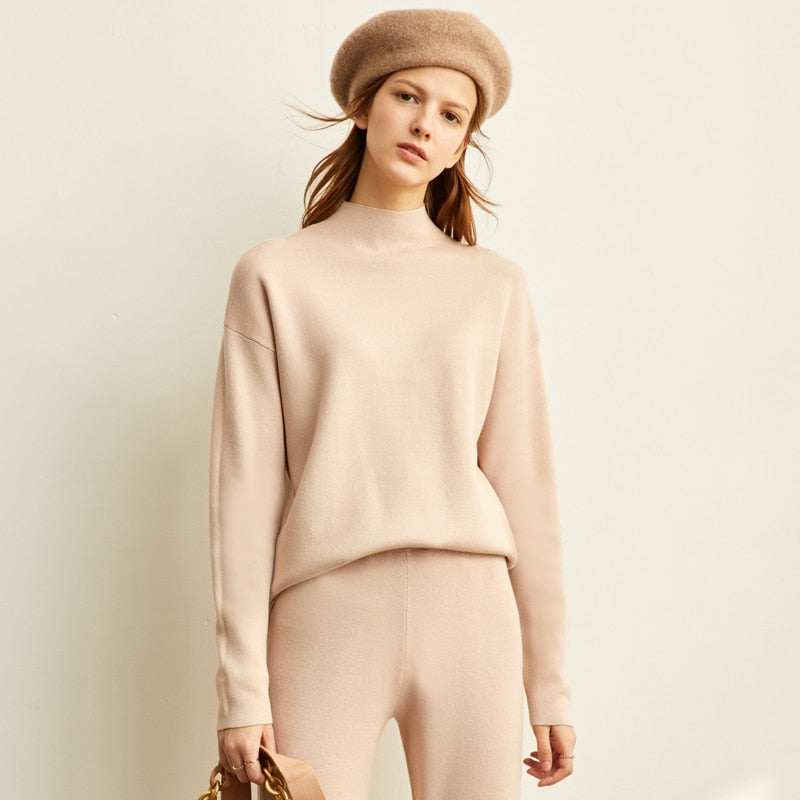 Korean knitting suit - FashionKila.com