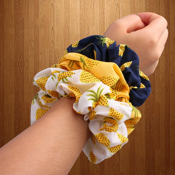 Women striped hair tie - FashionKila.com