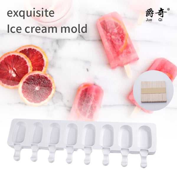 8/4/1 Hole Silicone Ice Cream Mould - FashionKila.com