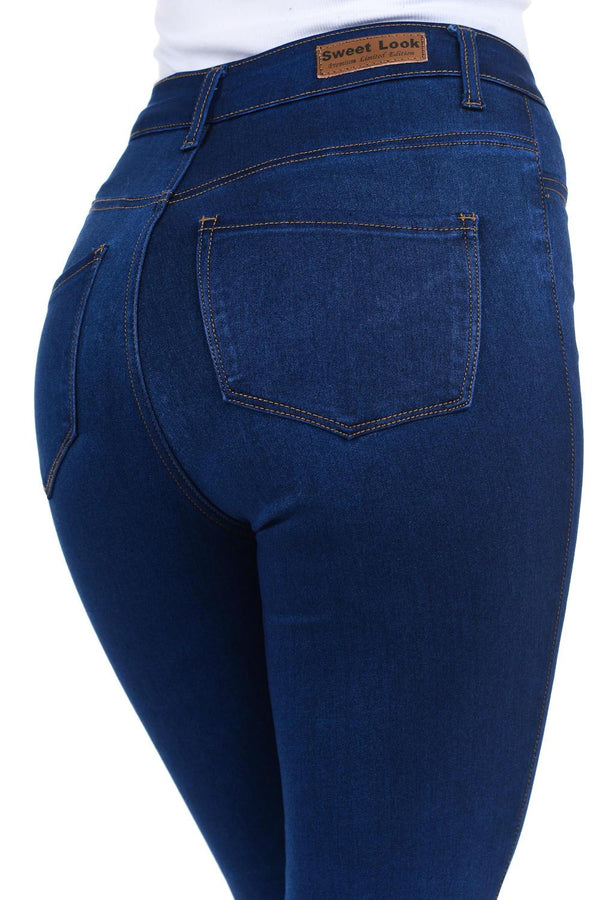 Sweet Look Premium Edition Women's Jeans - Push Up - Style N3470 - FashionKila.com