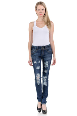 Sweet Look Premium Edition Women's Jeans - Push Up - Style N307HR - FashionKila.com