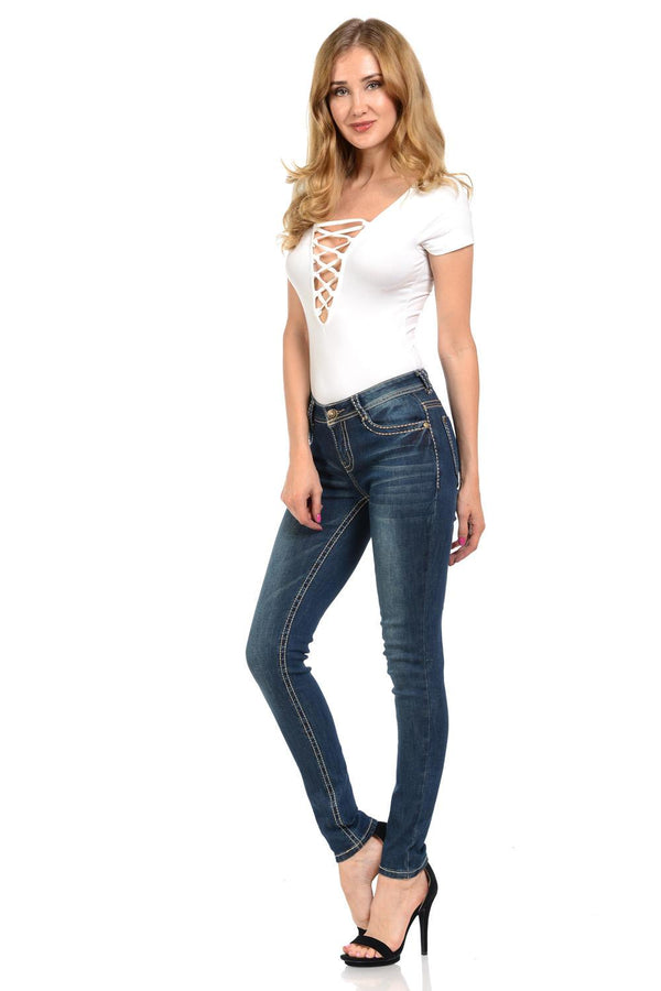 Sweet Look Premium Edition Women's Jeans - Push Up - Style N3142 - FashionKila.com