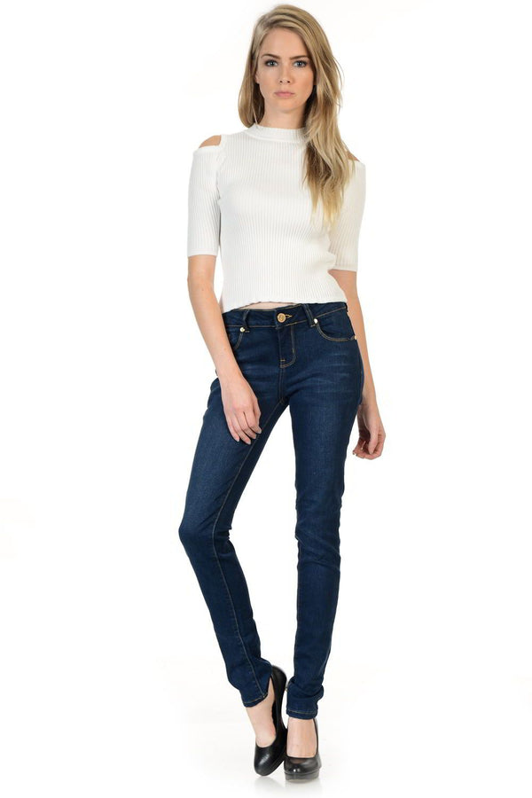 Sweet Look Premium Edition Women's Jeans - Push Up - Style N669D - FashionKila.com