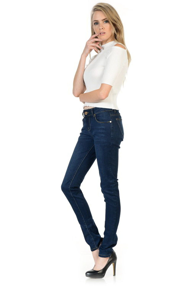 Sweet Look Premium Edition Women's Jeans - Push Up - Style N669D-Shopvoypa