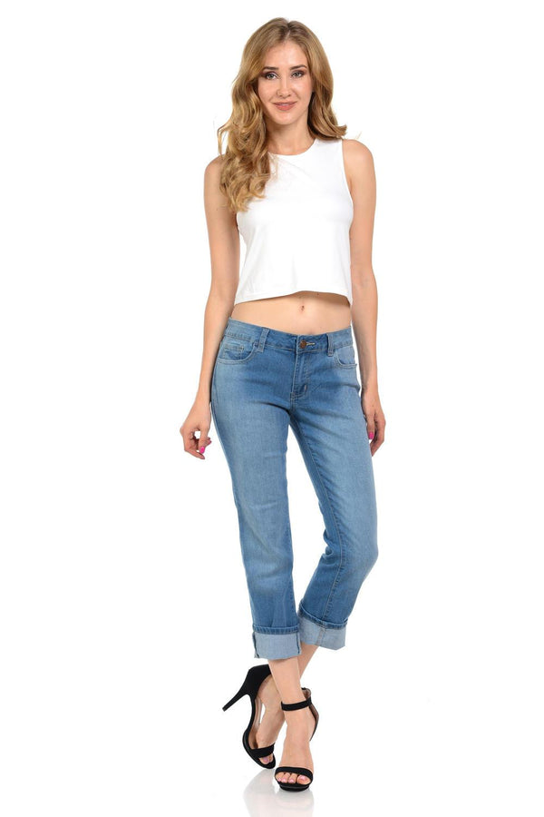 Sweet Look Premium Edition Women's Jeans - Push Up - Style N575E - FashionKila.com