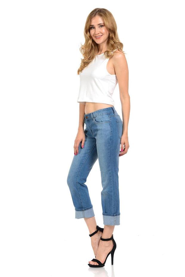Sweet Look Premium Edition Women's Jeans - Push Up - Style N575E-Shopvoypa