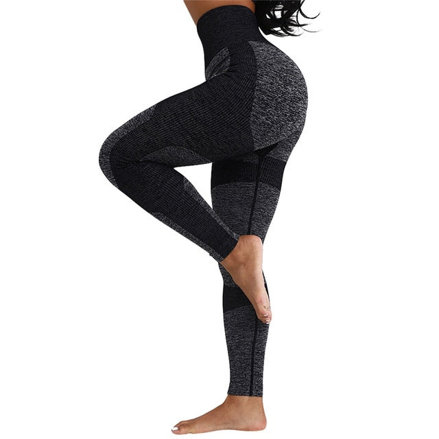 Seamless Yoga Pants For Fitness - FashionKila.com