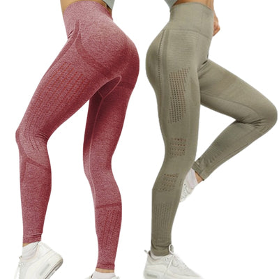 Seamless Yoga Pants For Fitness-Active wear-Shopvoypa