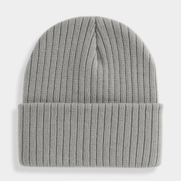 Unisex Knitted Brimless Warm Beanies-Hats-Shopvoypa