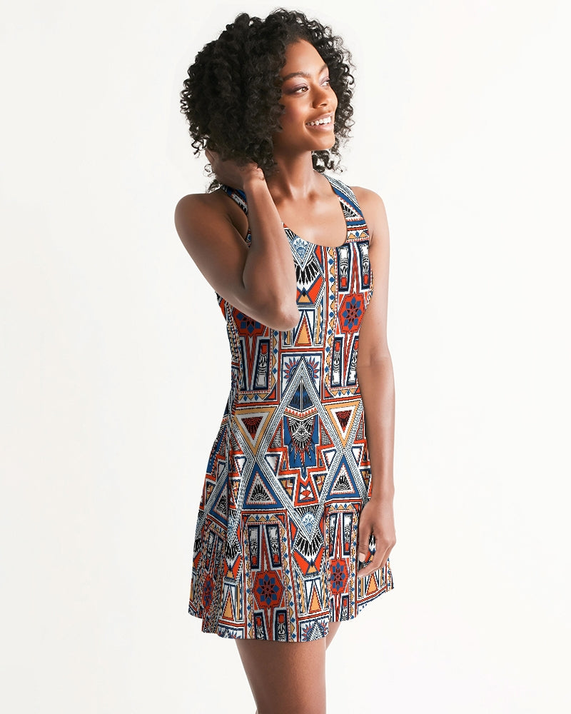 Voypa Tribals Racerback Dress - FashionKila.com