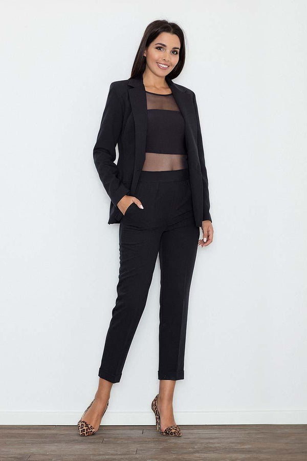 Black Figl Pants&Leggings - FashionKila.com