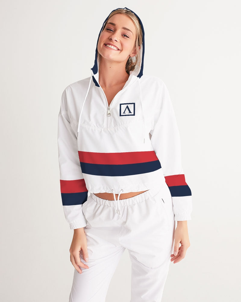 Voypa Women's Cropped Windbreaker - FashionKila.com