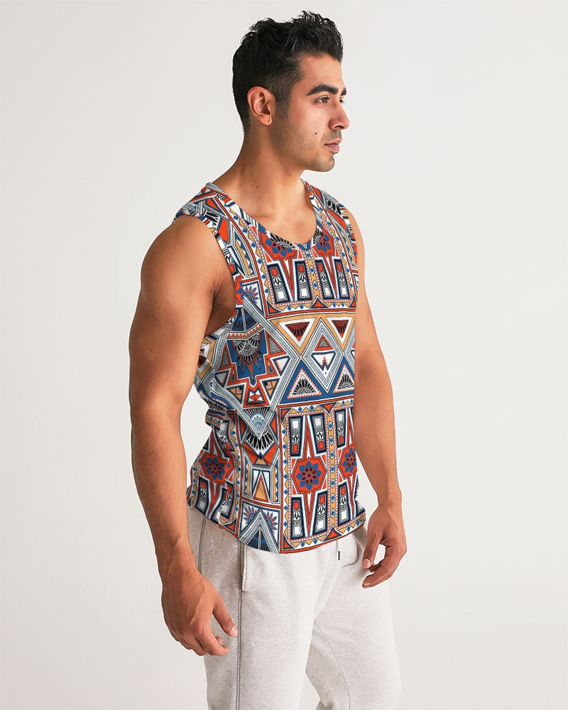 Voypa Tribal Sports Tank - FashionKila.com