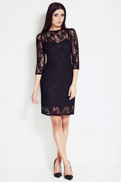 Black Awama Dresses-Shopvoypa
