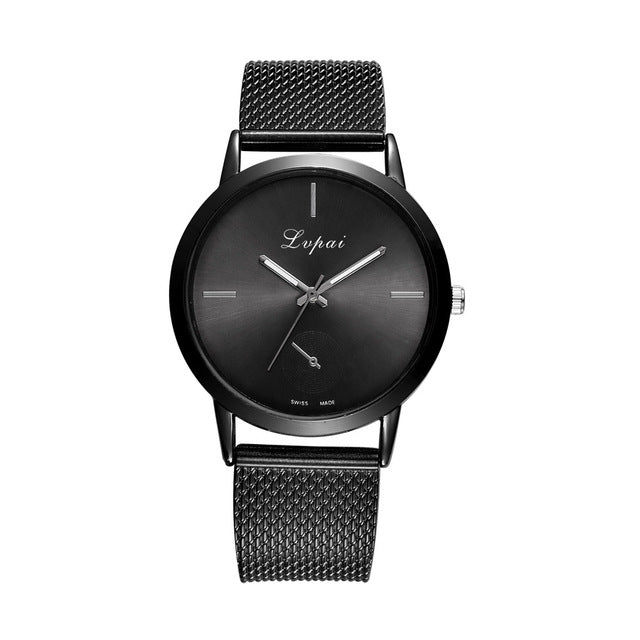 Casual Quartz Stainless Steel Watch - FashionKila.com