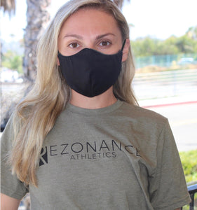 Eco-friendly Reversible Face Mask - Black and Camo