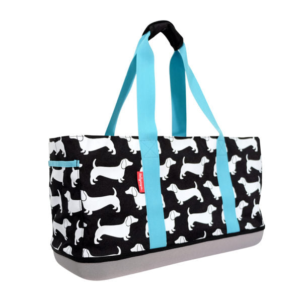 Load image into Gallery viewer, SAUSAGE DOG DAILY PET TOTE