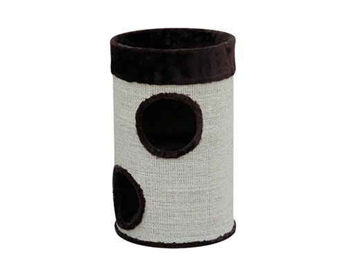 ALL PET TWO LEVEL TUBE SCRATCHING POST