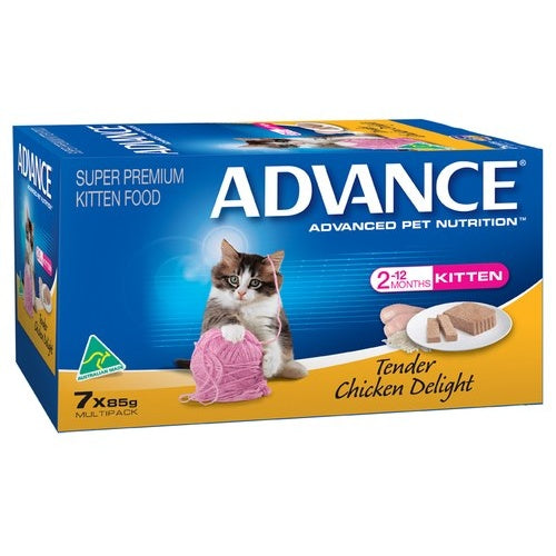 ADVANCE KITTEN TENDER CHICKEN DELIGHT