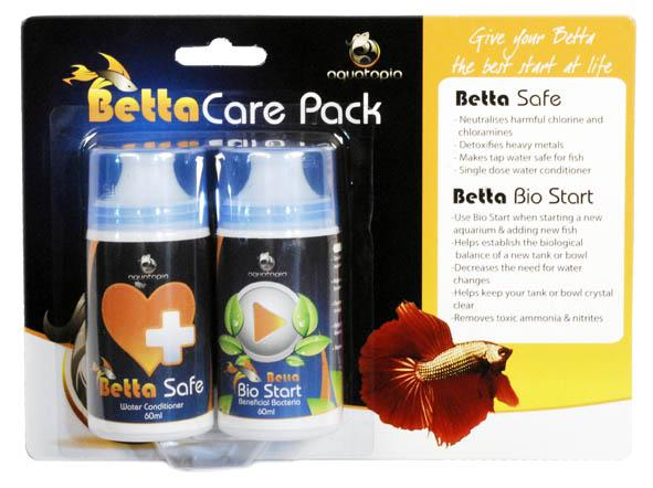 AQUATOPIA BETTA CARE PACK 60ML