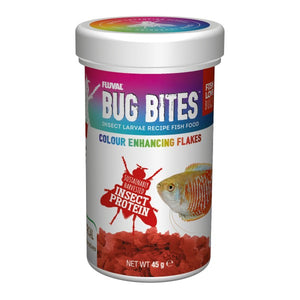 FLUVAL BUG BITES - COLOUR ENHANCING FLAKES