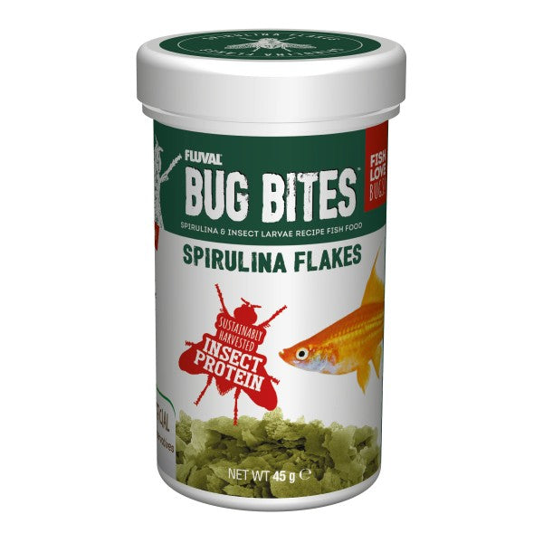 Load image into Gallery viewer, FLUVAL BUG BITES - SPIRULINA FLAKES