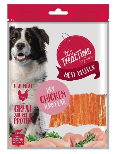ITS TREAT TIME - DRY CHICKEN JERKY BAR