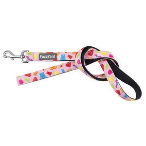 FUZZYARD DOG LEAD - JELLY BEARS