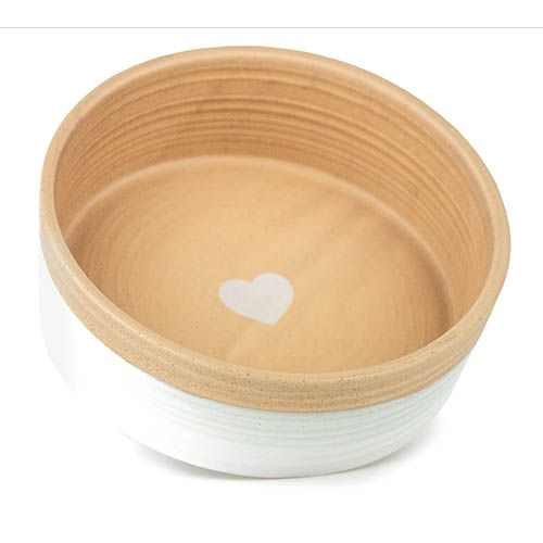 Load image into Gallery viewer, BARKLEY + BELLA CERAMIC BOWL HEART