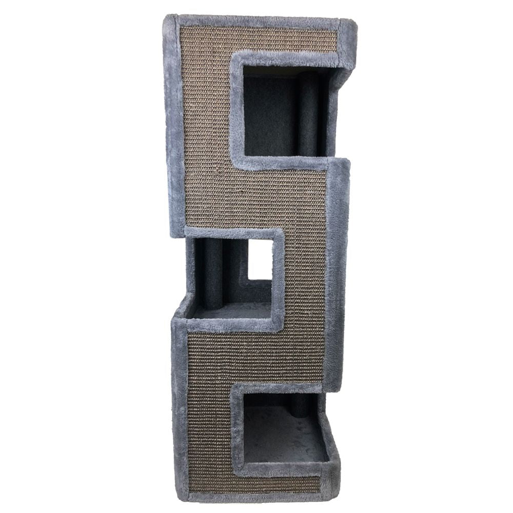 ALL PET HIDEAWAY TOWER SCRATCHING POST