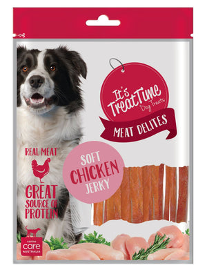ITS TREAT TIME - SOFT CHICKEN JERKY STRIP