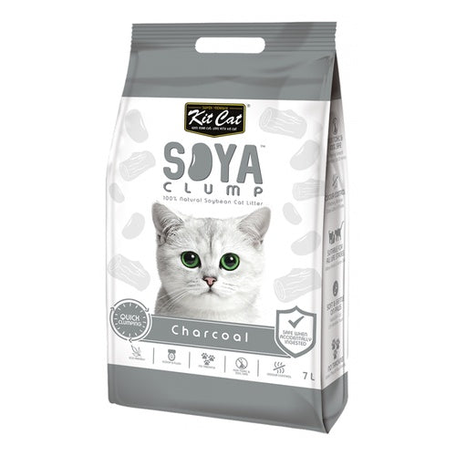 Load image into Gallery viewer, KIT CAT CHARCOAL CAT LITTER 7L