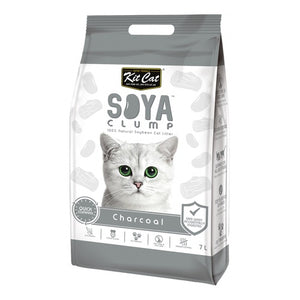 Load image into Gallery viewer, KIT CAT SOYA CLUMP CHARCOAL LITTER 7L