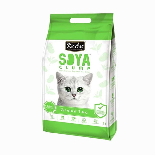 KIT CAT CAT LITTER GREEN TEA 7L