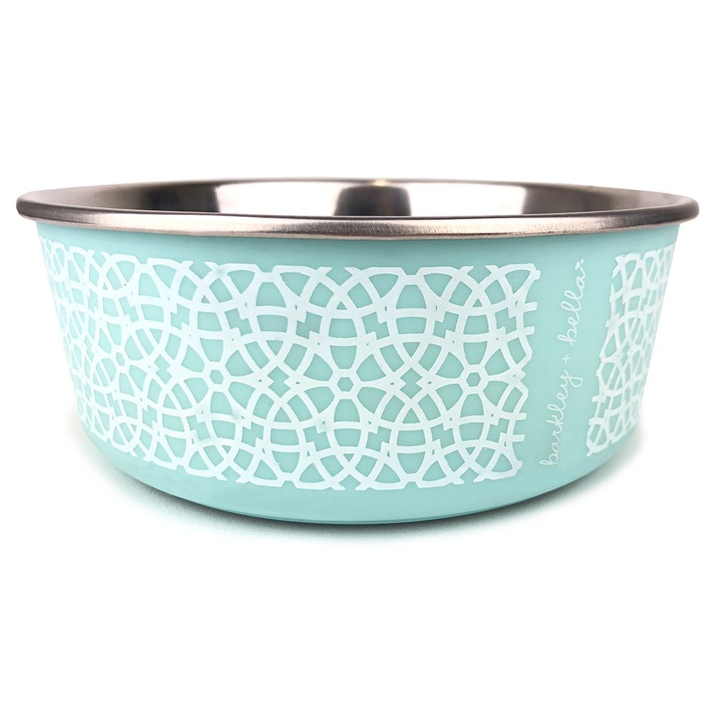 BARKLEY & BELLA MINT MARRAKESH BOWL