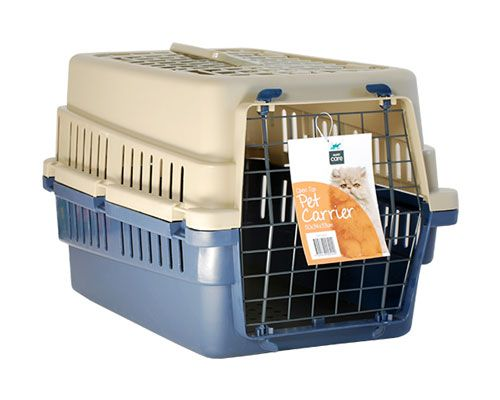 WIRE TOP PET CARRIERS
