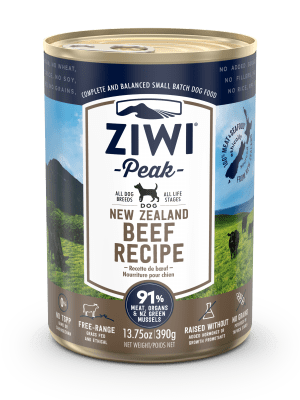 ZIWI PEAK DOG BEEF WET FOOD - 390G
